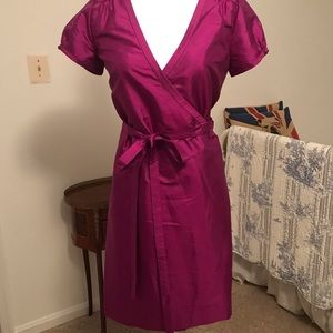 Jcrew silk dress